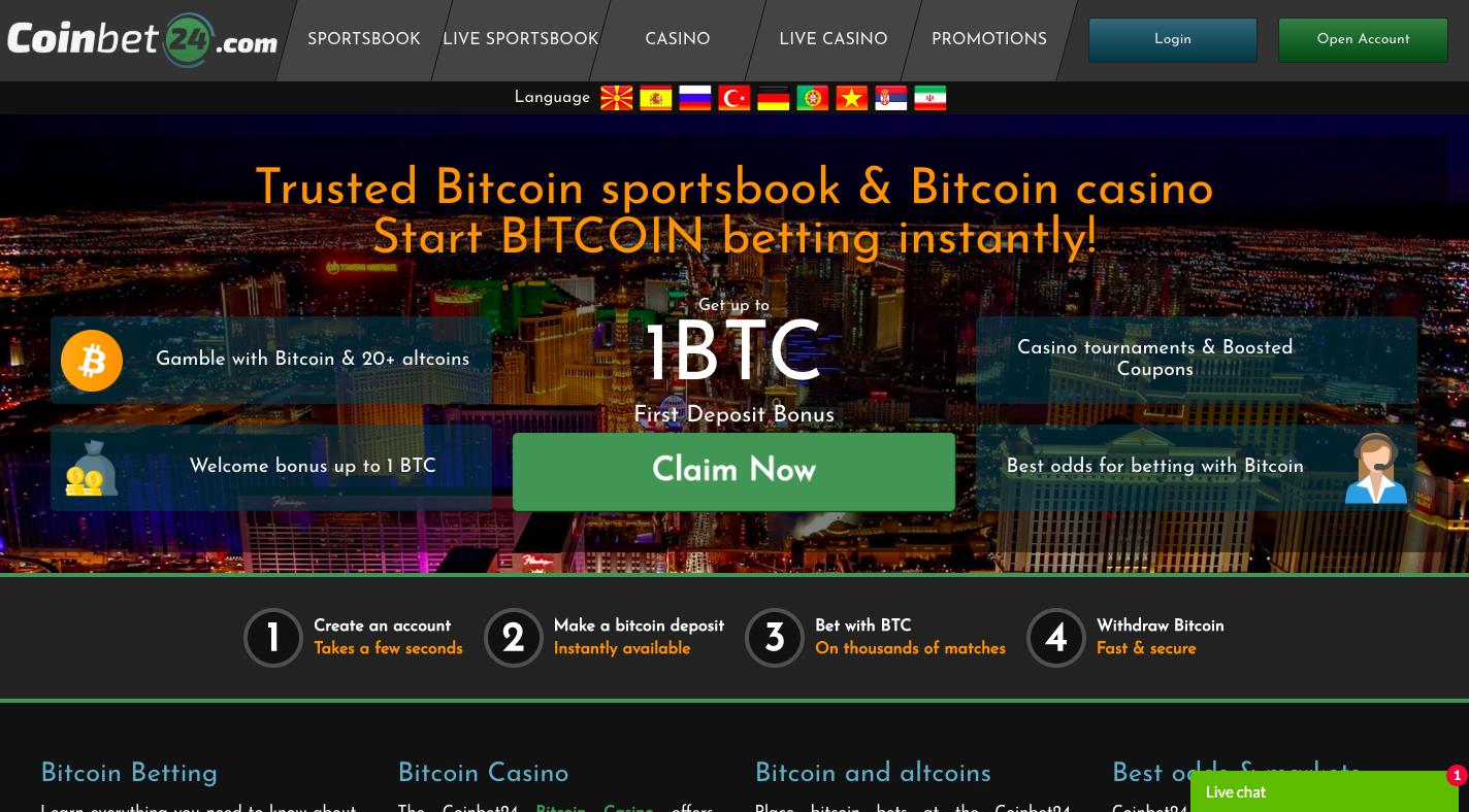 Thunderbolt bitcoin casino ei talletuskoodeja 2020
